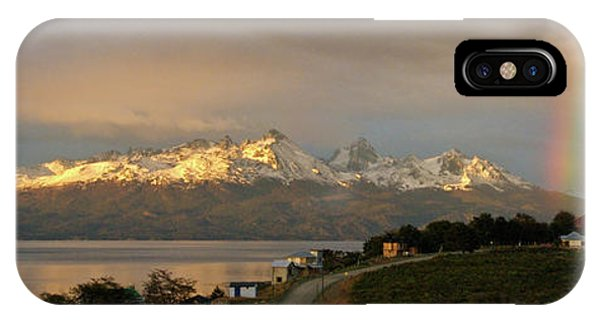 IPhone Case featuring the photograph Sunrise Across Beagle Channel, Patagonia by Mark Duehmig