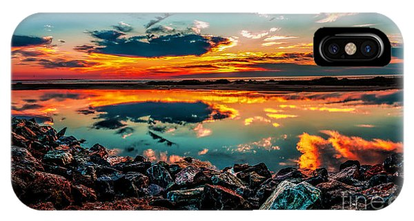 Sunrise At Hereford IPhone Case