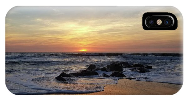 Sunrise At The 15th St Jetty IPhone Case