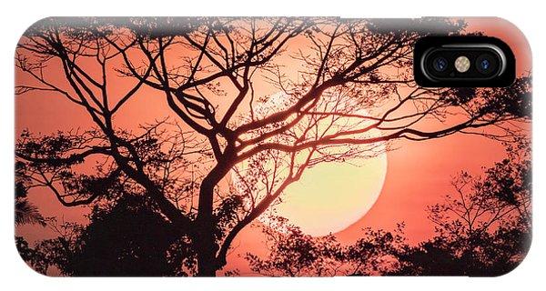 Belize iPhone Case - Sunrise, Coastal Highway, Belize by William Sutton