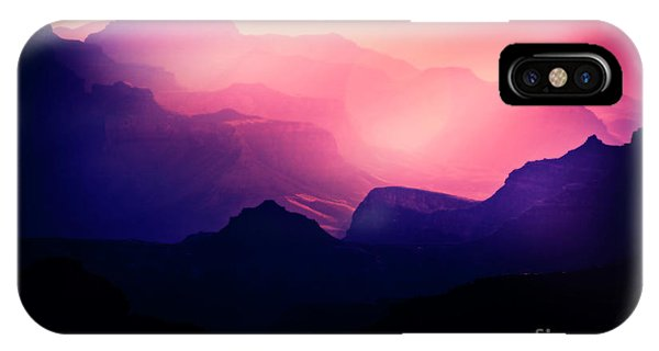 Sunrise In The Canyon IPhone Case