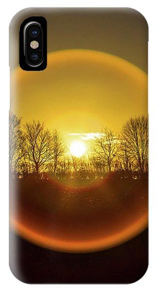 Sunrise. New Years Eve. IPhone Case