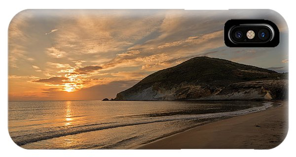 Sunrise On The Beach Of The Genoveses Of Cabo De Gata IPhone Case