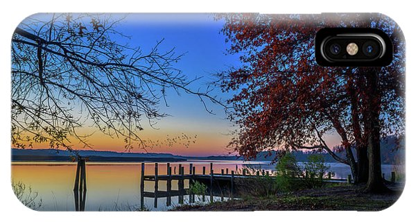 Sunrise On The Patuxent IPhone Case
