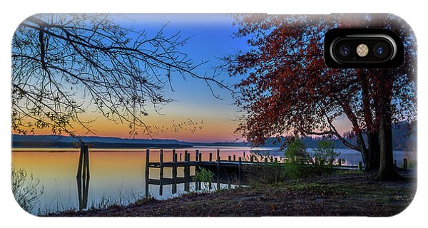 IPhone Case featuring the photograph Sunrise On The Patuxent by Cindy Lark Hartman
