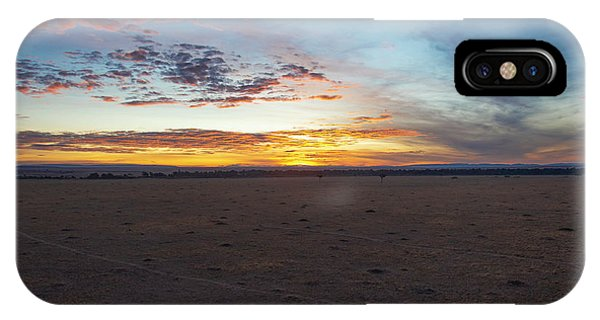 Sunrise Over The Mara IPhone Case