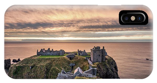 Imposing iPhone Case - Sunrise Over Dunnottar by Dave Bowman