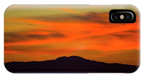Sunrise Over Santa Monica Bay IPhone Case