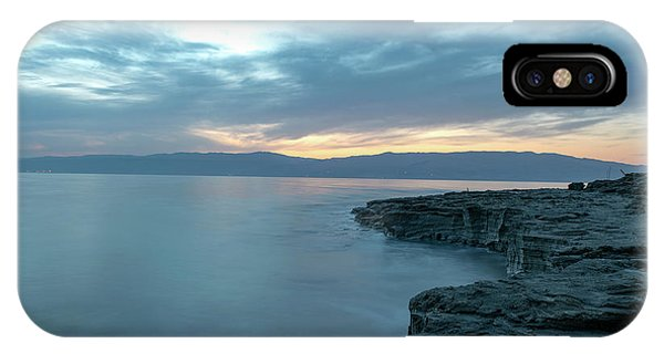 Before Dawn At The Dead Sea IPhone Case