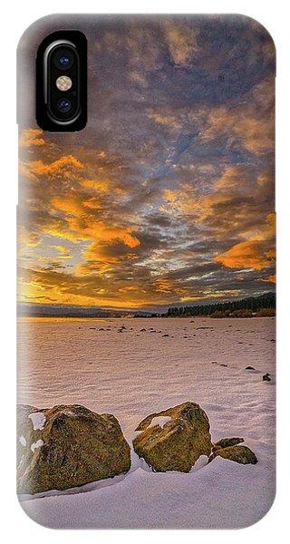 Sunrise Rocks IPhone Case