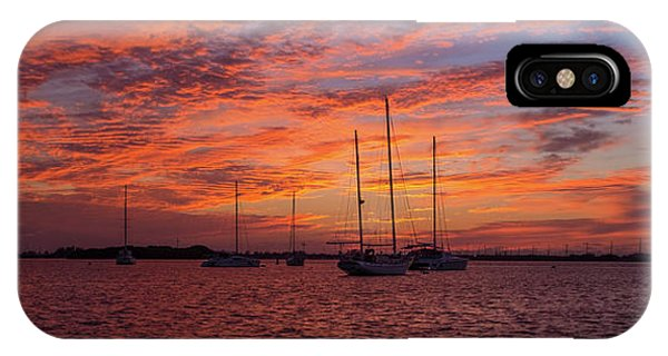 IPhone Case featuring the photograph Sunset Across The Keys by Mark Duehmig