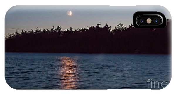 Sunset And Moonrise IPhone Case