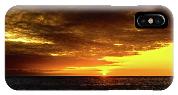 Sunset And Surf IPhone Case