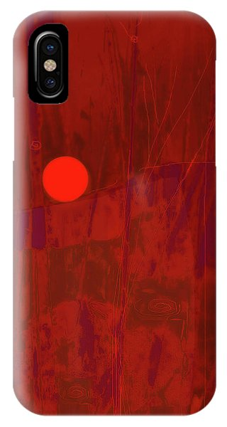 Sunset As Siler Metaphorm IPhone Case