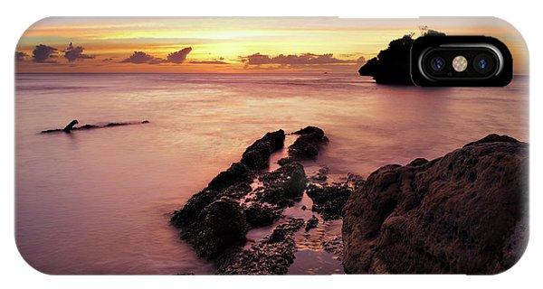 Sunset At Columbus Bay IPhone Case