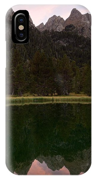 IPhone Case featuring the photograph Sunset At Ibonet De Batisielles by Stephen Taylor
