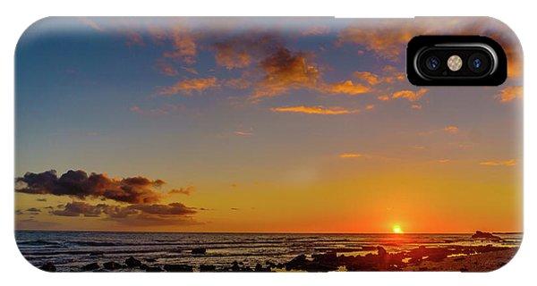 Sunset At Kailua Beach IPhone Case
