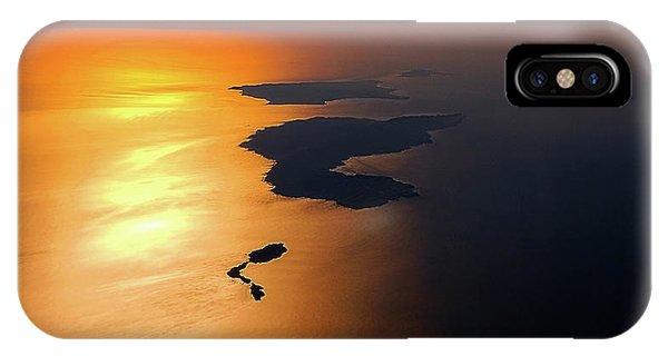 Sunset At Lyon Rock IPhone Case