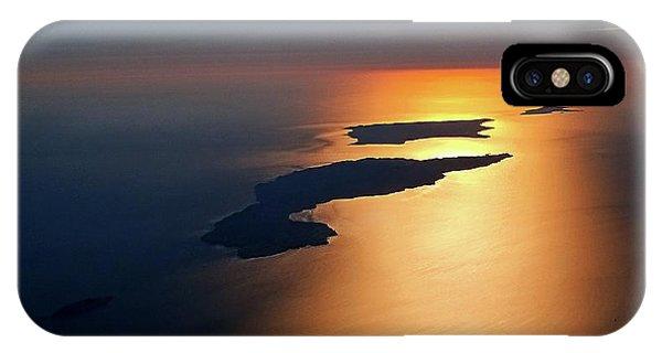 Sunset At Lyon Rock II IPhone Case