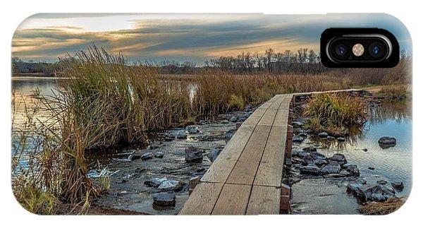 Sunset At Purgatory Creek IPhone Case