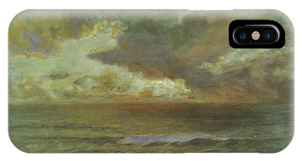Endless iPhone Case - Sunset At Seascale by Joseph Arthur Palliser Severn