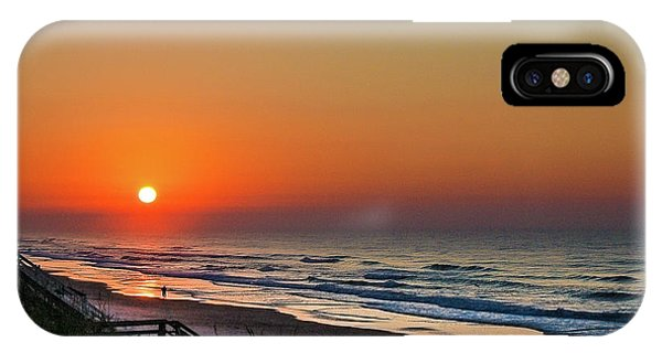Sunset At Surf City Nc IPhone Case