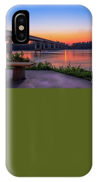 Sunset At The River Park IPhone Case