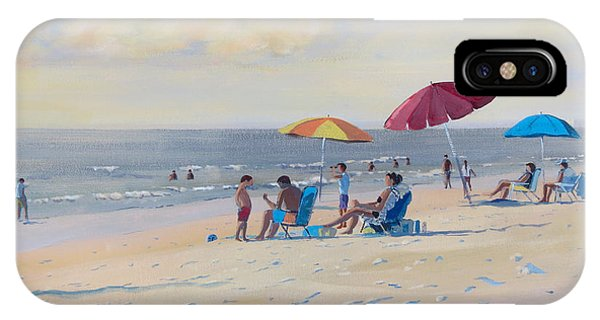 Sunset Beach Observers IPhone Case