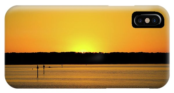 Sunset From National Harbor IPhone Case