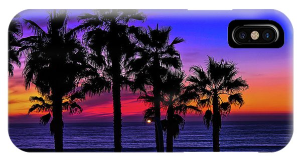 Sunset From The Ocean Park Inn IPhone Case