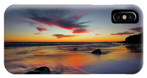 Sunset In Malibu IPhone Case