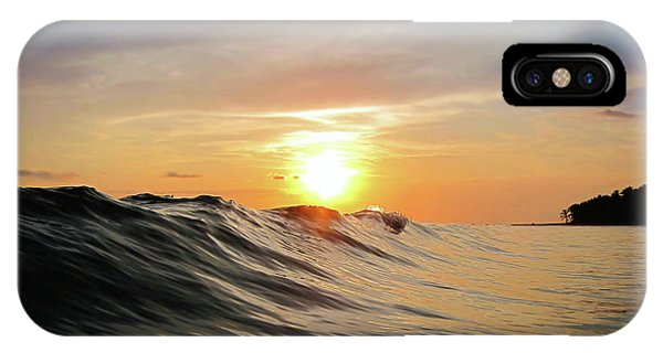 Skyscape iPhone Case - Sunset In Paradise by Nicklas Gustafsson