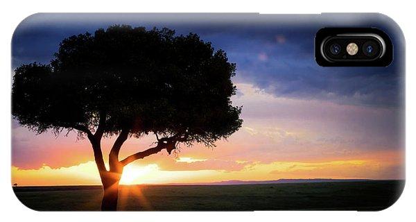 iPhone Case - Sunset In The Masai Mara by Jane Rix