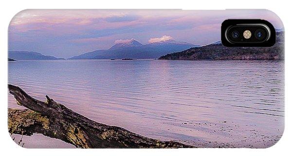 Sunset In Ushuaia IPhone Case