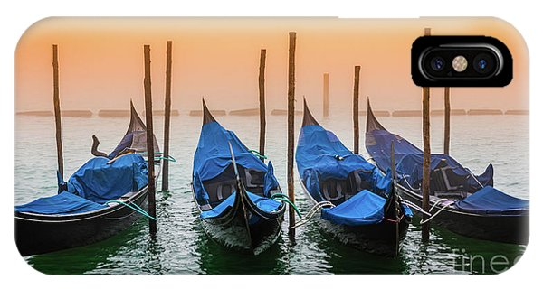 Sunset In Venice IPhone Case