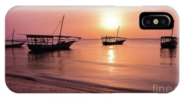 Sunset In Zanzibar IPhone Case
