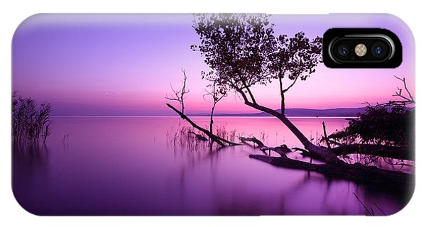 Beautiful Sunrise iPhone Case - Sunset Lake. This Photo Make In by Hofhauser