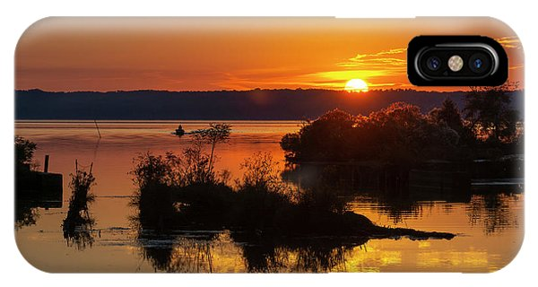 Sunset, Mallows Bay IPhone Case
