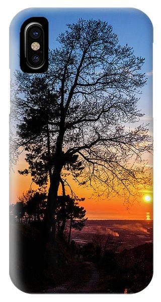 Sunset - Monte D'oro IPhone Case