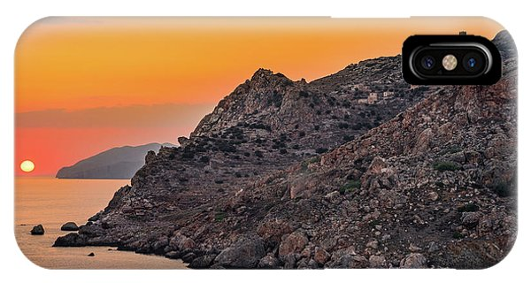 Sunset Near Cape Tainaron IPhone Case