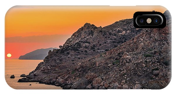 IPhone Case featuring the photograph Sunset Near Cape Tainaron by Milan Ljubisavljevic
