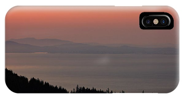 Sunset Of The Olympic Mountains IPhone Case