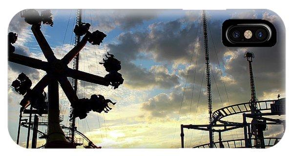 Sunset On Coney Island IPhone Case