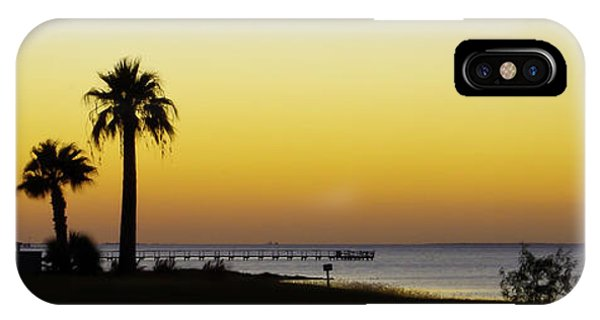 Sunset On Copano Bay, Texas IPhone Case