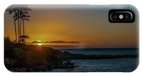 Sunset On Kapalua IPhone Case