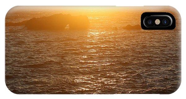 Sunset On The Coast IPhone Case