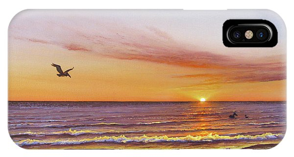 Sunset On The Gulf IPhone Case