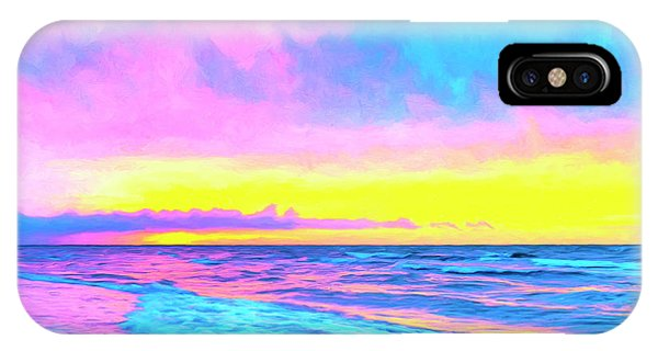 Hawaiian Sunset iPhone Case - Sunset On The Kona Coast by Dominic Piperata