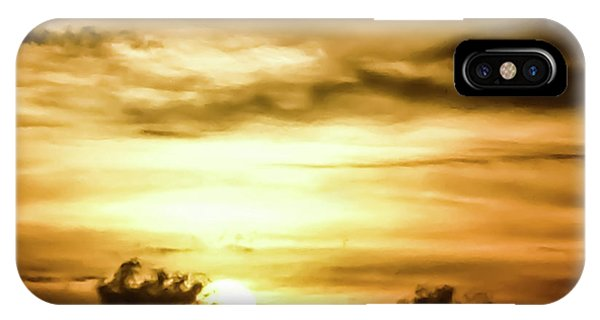 Sunset On The Pacific Ocean IPhone Case