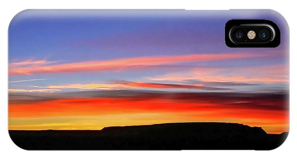 Sunset Over Navajo Lands IPhone Case